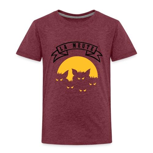 la meute - T-shirt Premium Enfant