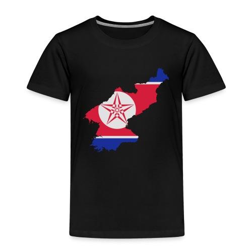 north korea - Premium T-skjorte for barn