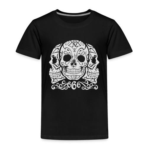 Skull Dia de los muertos - T-shirt Premium Enfant