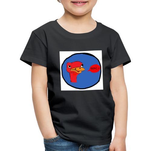 de struisvogel - Kinderen Premium T-shirt