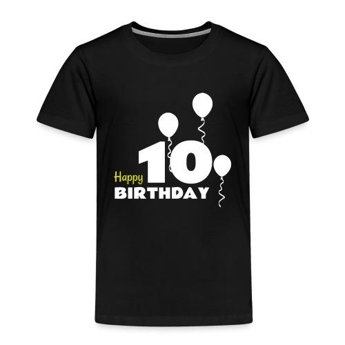 HAPPY birthday10 - Camiseta premium niño