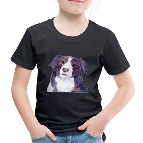 bordercollie color - Børne premium T-shirt