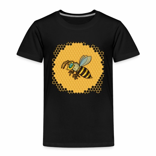 Hexagon Biene - Kinder Premium T-Shirt