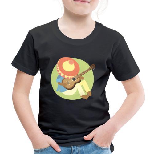 Gitarre spielen - Kinder Premium T-Shirt