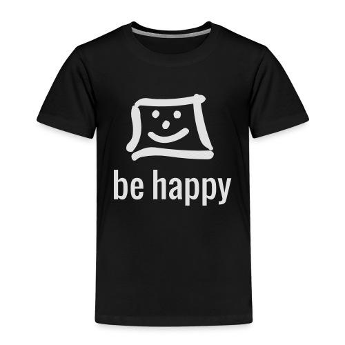 be happy by happy-pixel - Kinder Premium T-Shirt