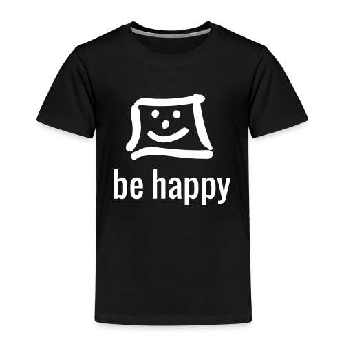 be happy by happy-pixel - Kinder Premium T-Shirt