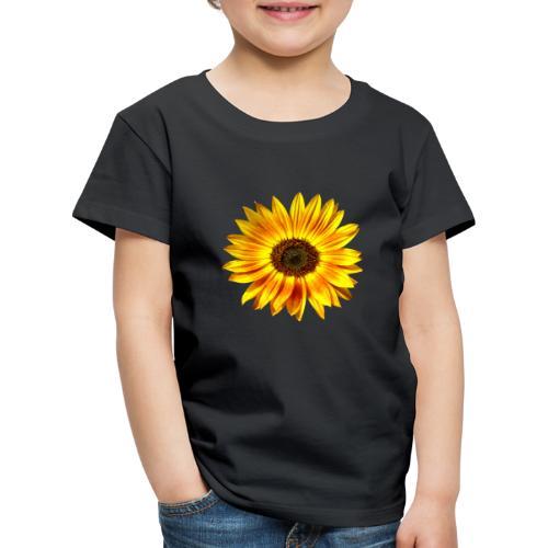 Sonnenblume gelb Sommer - Kinder Premium T-Shirt