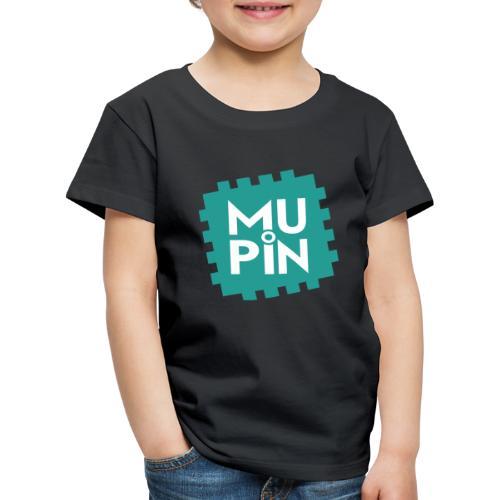 Logo Mupin quadrato - Maglietta Premium per bambini