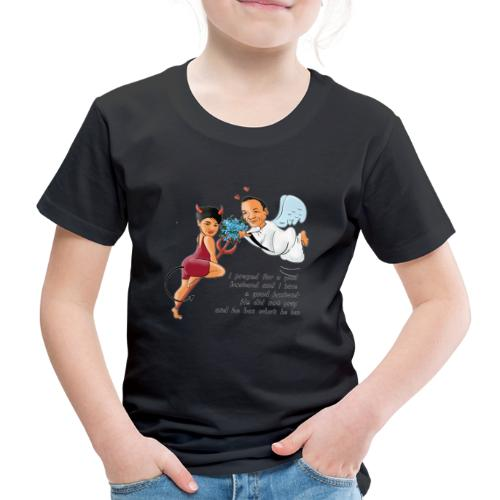 I prayed for a good husband - Kids' Premium T-Shirt