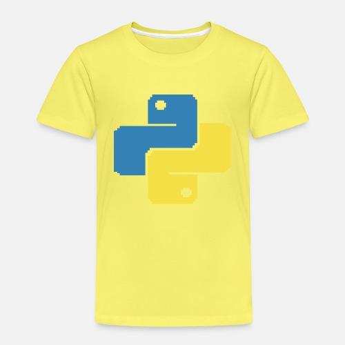 Python Pixelart - Kinder Premium T-Shirt