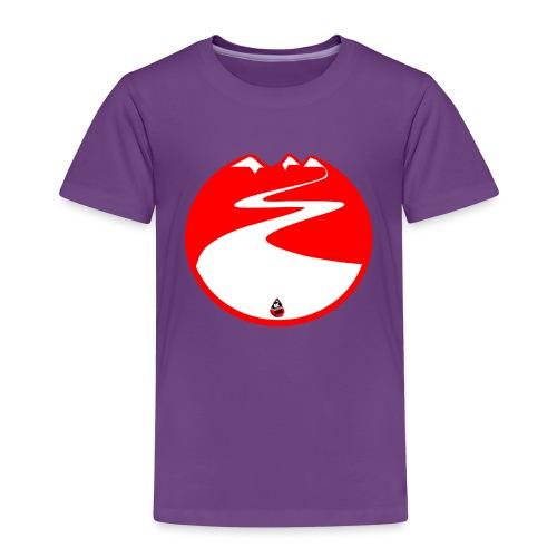 Montagne rouge - T-shirt Premium Enfant