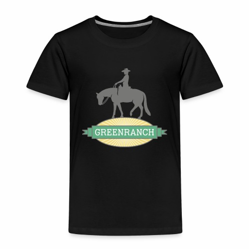 greenranch logo - Kinder Premium T-Shirt