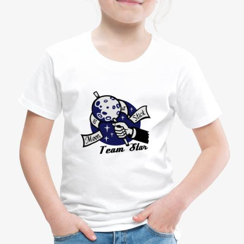 Moon on a Stick - Team Star - Kids' Premium T-Shirt