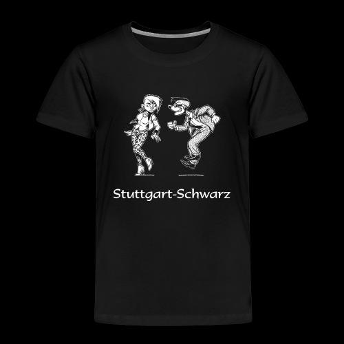 Stuttgart-Schwarz-Logo - Kinder Premium T-Shirt