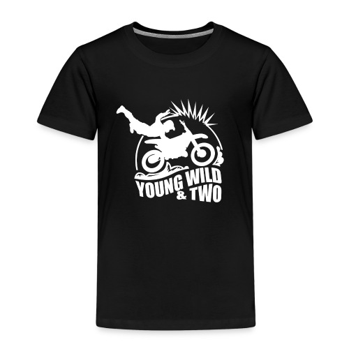 Young Wild And Two 4 - Kids' Premium T-Shirt