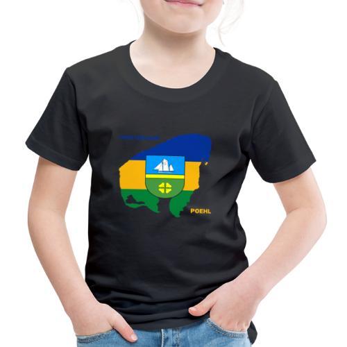 Poehl Insel Ostsee Urlaub - Kinder Premium T-Shirt