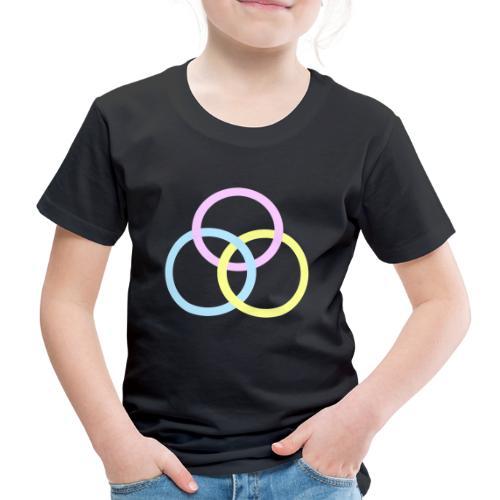Circles - Maglietta Premium per bambini