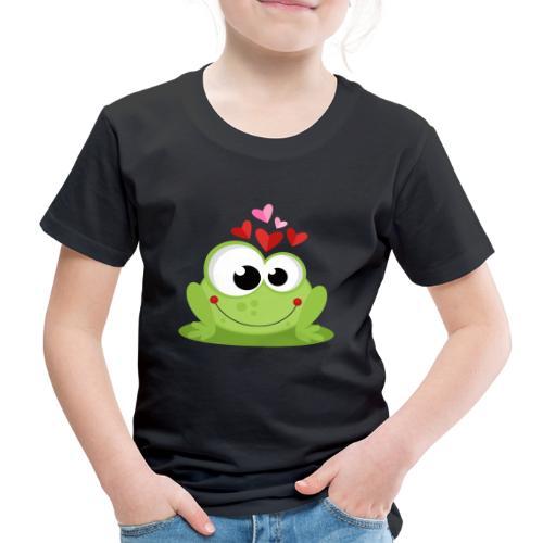 Frog In Love - Camiseta premium niño