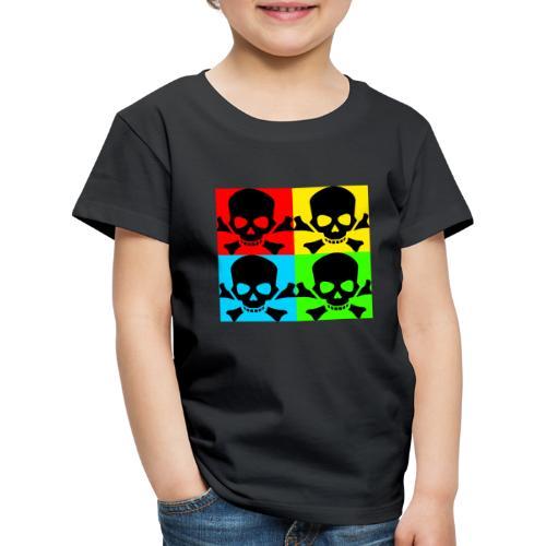 Art Skull - Kids' Premium T-Shirt