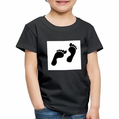 footprints - Kids' Premium T-Shirt