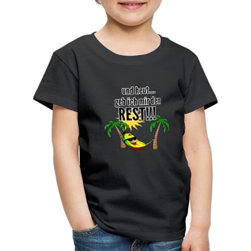 und heut... geb ich mir den Rest - Party Banane - Kids' Premium T-Shirt