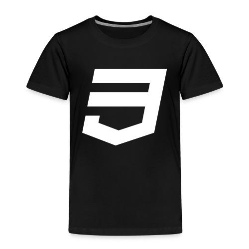 CSS3 Developer - Camiseta premium niño
