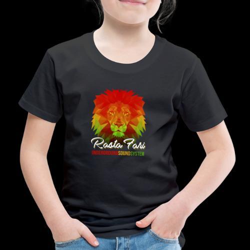 Rasta Fari LION - Kinder Premium T-Shirt