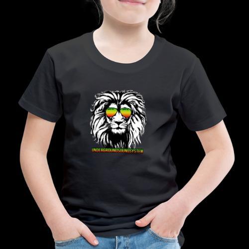 RASTA REGGAE LION - Kinder Premium T-Shirt