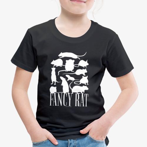 Fancy Rat - Lasten premium t-paita