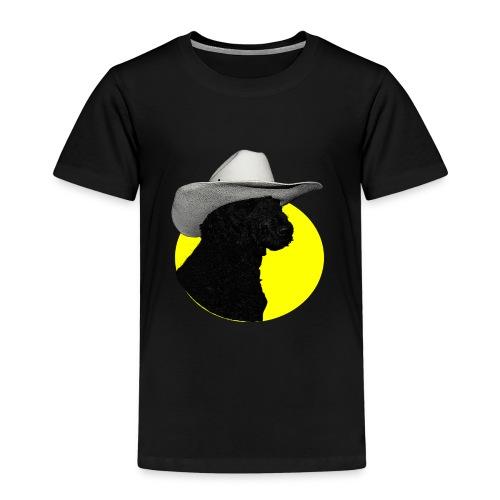 Hund mit Hut - Kinder Premium T-Shirt