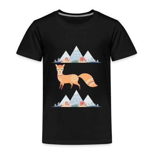 Fuchs in den Winterbergen - Kinder Premium T-Shirt