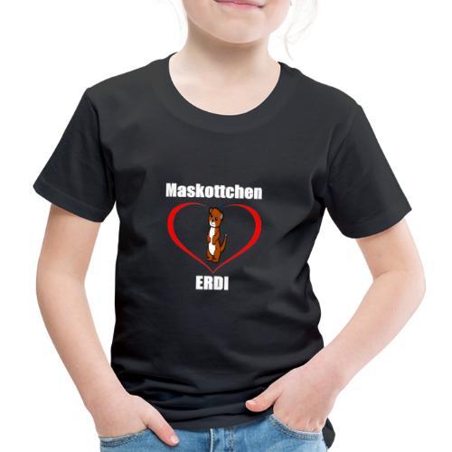 Herz Maskottchen Erdi - Kinder Premium T-Shirt