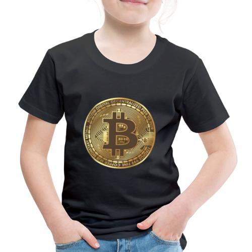 Bitcoin - Kinder Premium T-Shirt