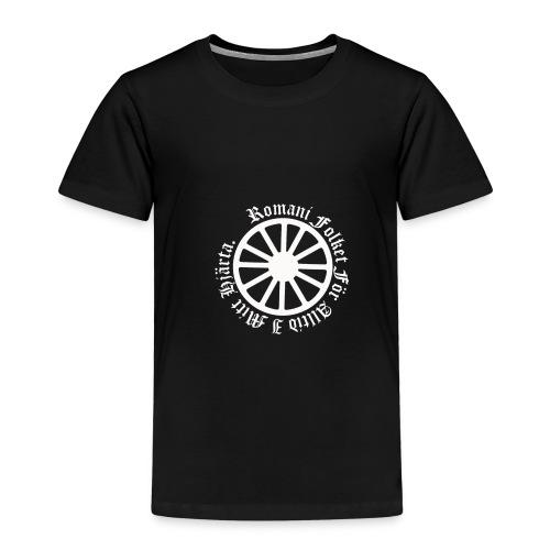 626878 2406639 lennyhjulromanifolketivit orig - Premium-T-shirt barn
