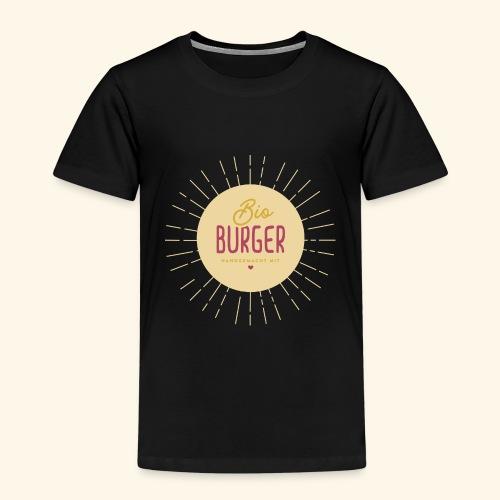 BIO BURGER - handgemacht mit Liebe - Kinder Premium T-Shirt