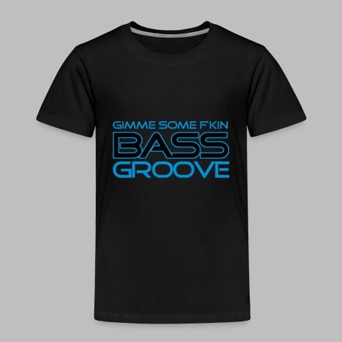Bass Groove - Kinder Premium T-Shirt