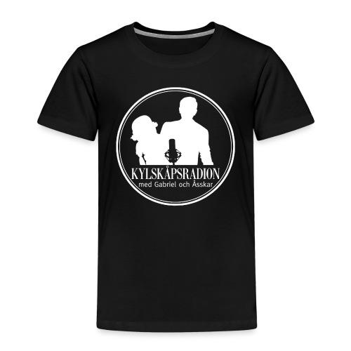 Logga helvit - Premium-T-shirt barn