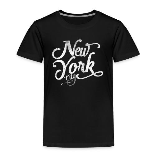 New York City typography - Kids' Premium T-Shirt