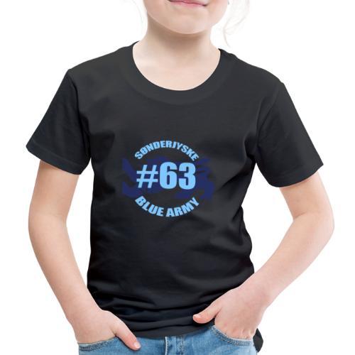 SOENDERJYSKE BLUE ARMY - Børne premium T-shirt