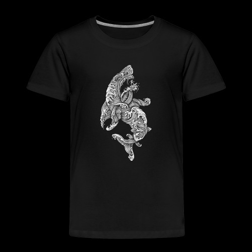 Shark Surfer - Kinder Premium T-Shirt