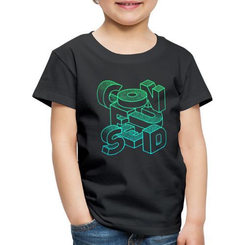 Confused - Premium-T-shirt barn