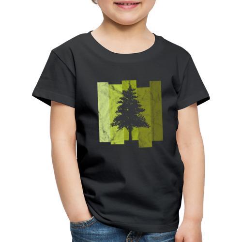 Woid4tla Retro Linien - Kinder Premium T-Shirt