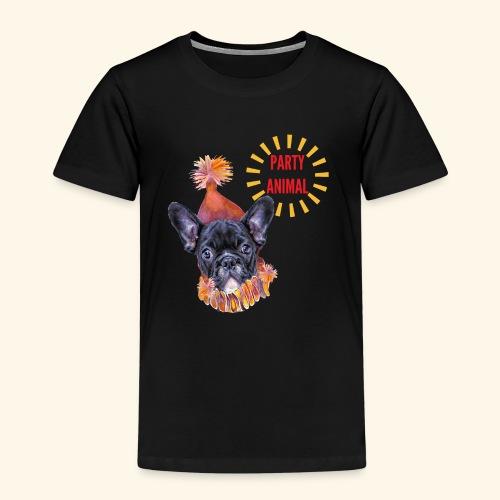 French Bulldog Party - Kids' Premium T-Shirt