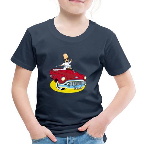 Herr Bohnemann im Buick - Kinder Premium T-Shirt