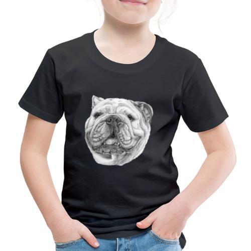 EngelskBulldog M - Børne premium T-shirt