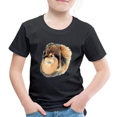 pomeranian 1 - Børne premium T-shirt