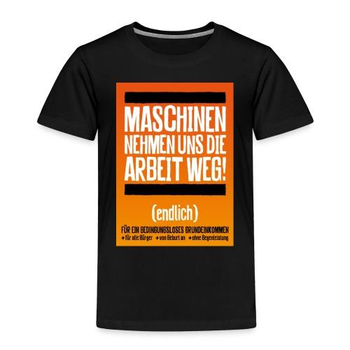 Arbeit von Maschinen - Kinder Premium T-Shirt