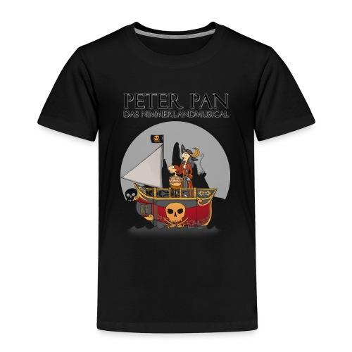 T Shirt Motiv Hook und Smee auf Schiff png - Kinder Premium T-Shirt