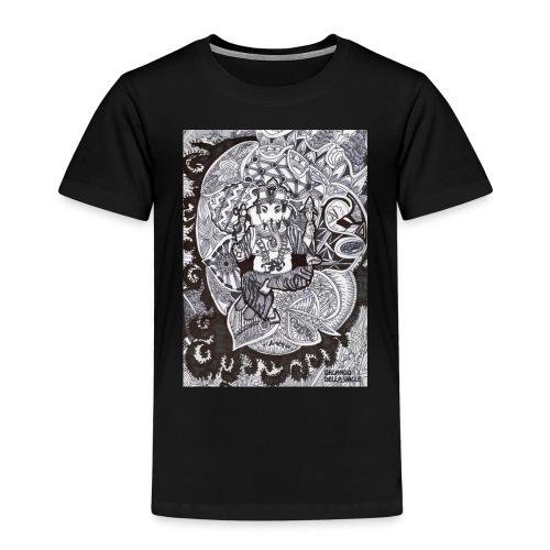 Psychedelic Ganesha - Maglietta Premium per bambini