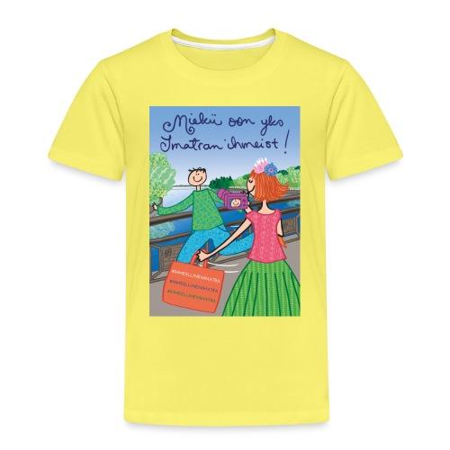 Virkkukoukkunen - Miekii oon yks Imatran ihmeist! - Lasten premium t-paita